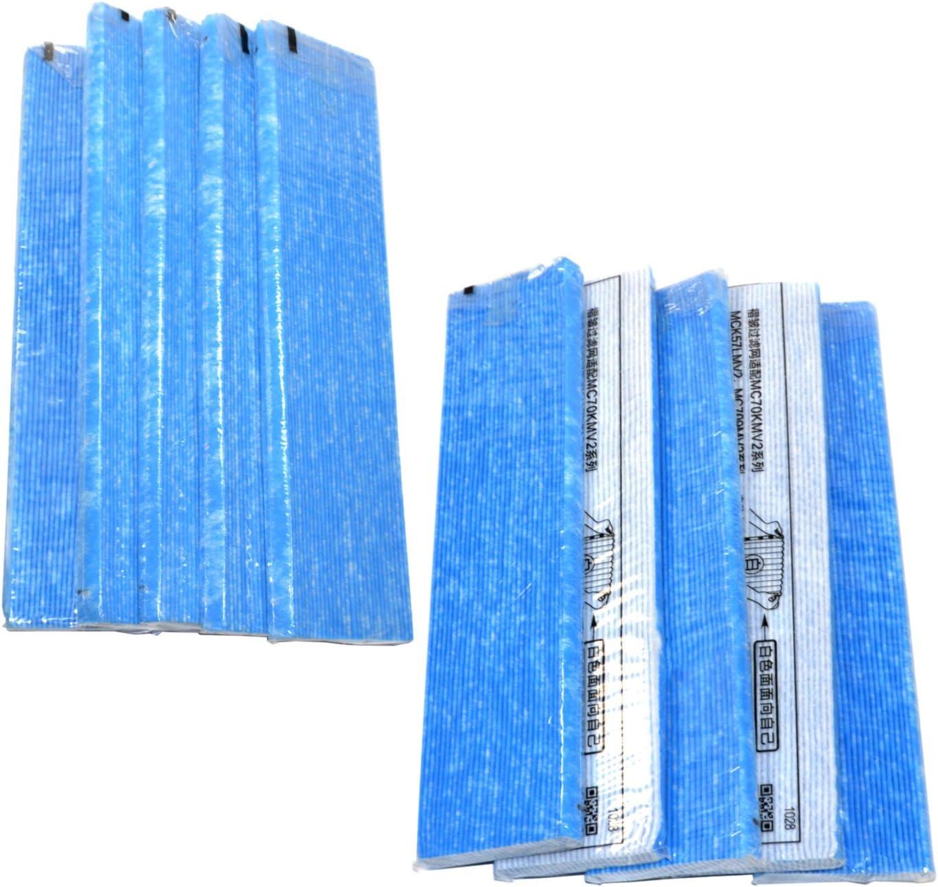 HQRP Paquete de 10 Unidades para purificador de Aire Filtro para ...