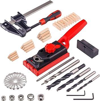 Dübel Bohr Ersatz Für Taschen Loch Vorrichtung 6,8 und 10 Mm Tischler Werkzeug