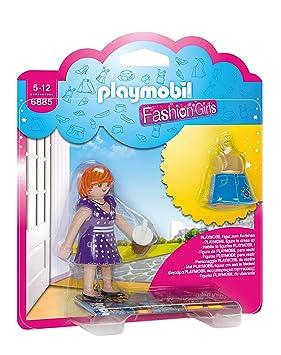 Playmobil Tienda de Moda- City Fashion Girl Figura con Accesorios, Multicolor (6885)