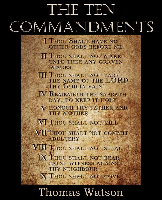 The Ten Commandments pdf epub