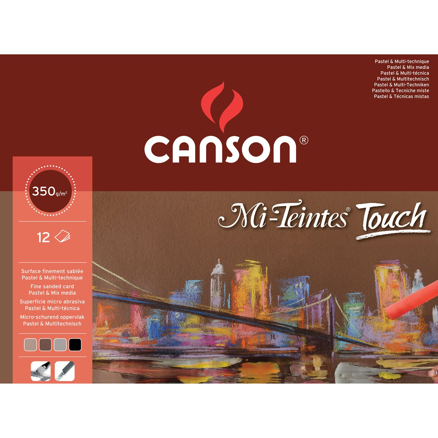 Mi-Teintes Touch Pad A3 355gsm by Canson