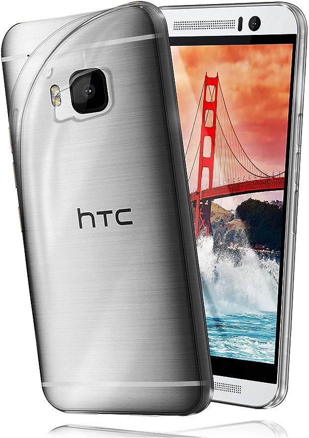 moex HTC One M9   Hülle Silikon Transparent Klar Clear Back-Cover TPU Schutzhülle Dünn Handyhülle für HTC One M9 Case Ultra-S