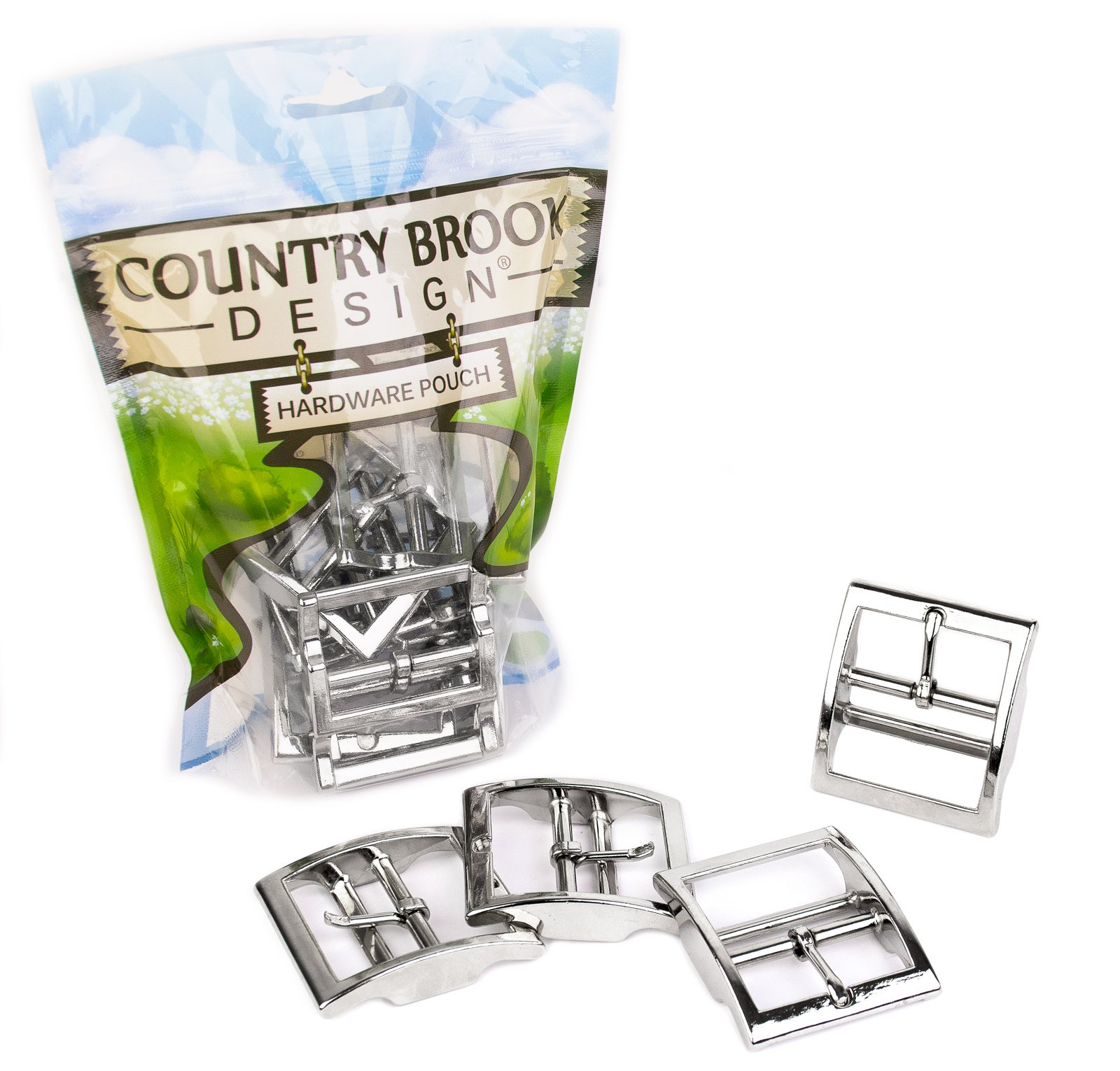 Country Brook Design - 1 1/2 Inch Tongue Buckle (25 Pack) by Country Brook Design