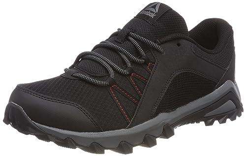 Trailgrip 6.0, Zapatillas de Senderismo para Hombre, Negro (Black/Rich Magma/Alloy 000), 39 EU Reebok
