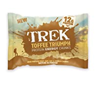 Trek Toffee Treat Protein Bitesize Chunks - Box of 14 Packs