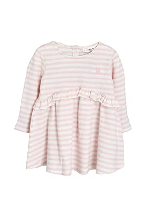 b56f573894281 Next Bébé Fille Robe À Volants Rayure Rose 1.5-2 Ans  Amazon.fr ...