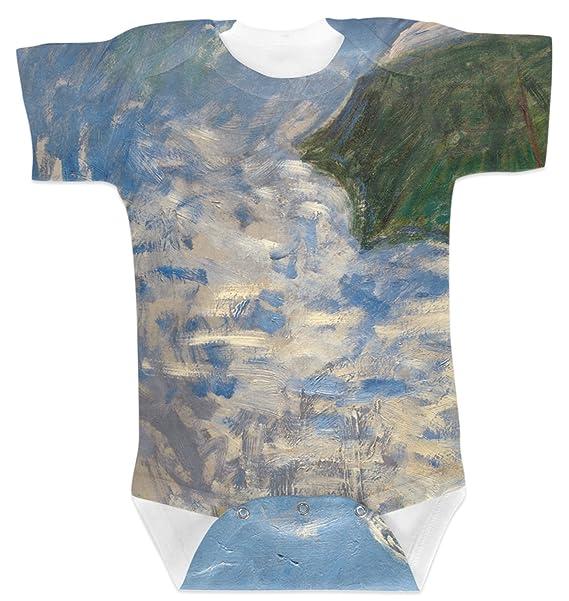 4e903077c Amazon.com: RNK Shops Promenade Woman by Claude Monet Baby Onesie ...