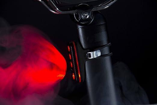 Knog Blinder Road R70 - Luz trasera para bicicleta, Blinder Road R70, plata: Amazon.es: Deportes y aire libre