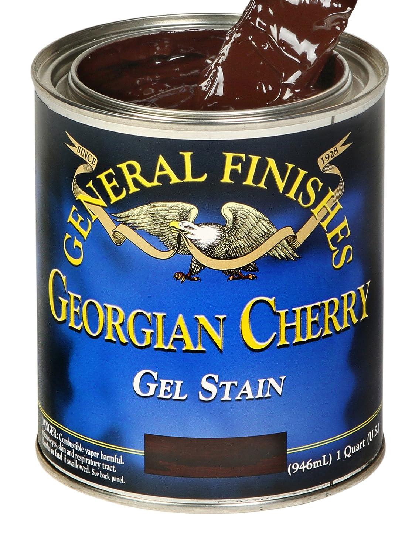 General Finishes ゲルステイン Half-Pint GEL GEORGIAN CHERRY-HP 1 B001DT1VVO half pint|Georgian Cherry Georgian Cherry half pint