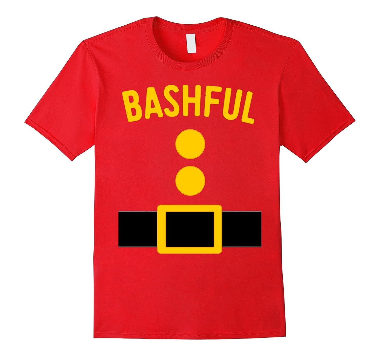 Bashful Dwarf Costume T-Shirt Funny Halloween Gift-FL