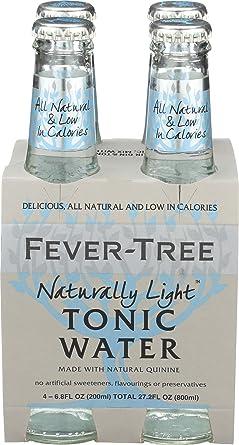 Fever-Tree, Tonic Light, 6.8 Fl Oz, 4 Pack