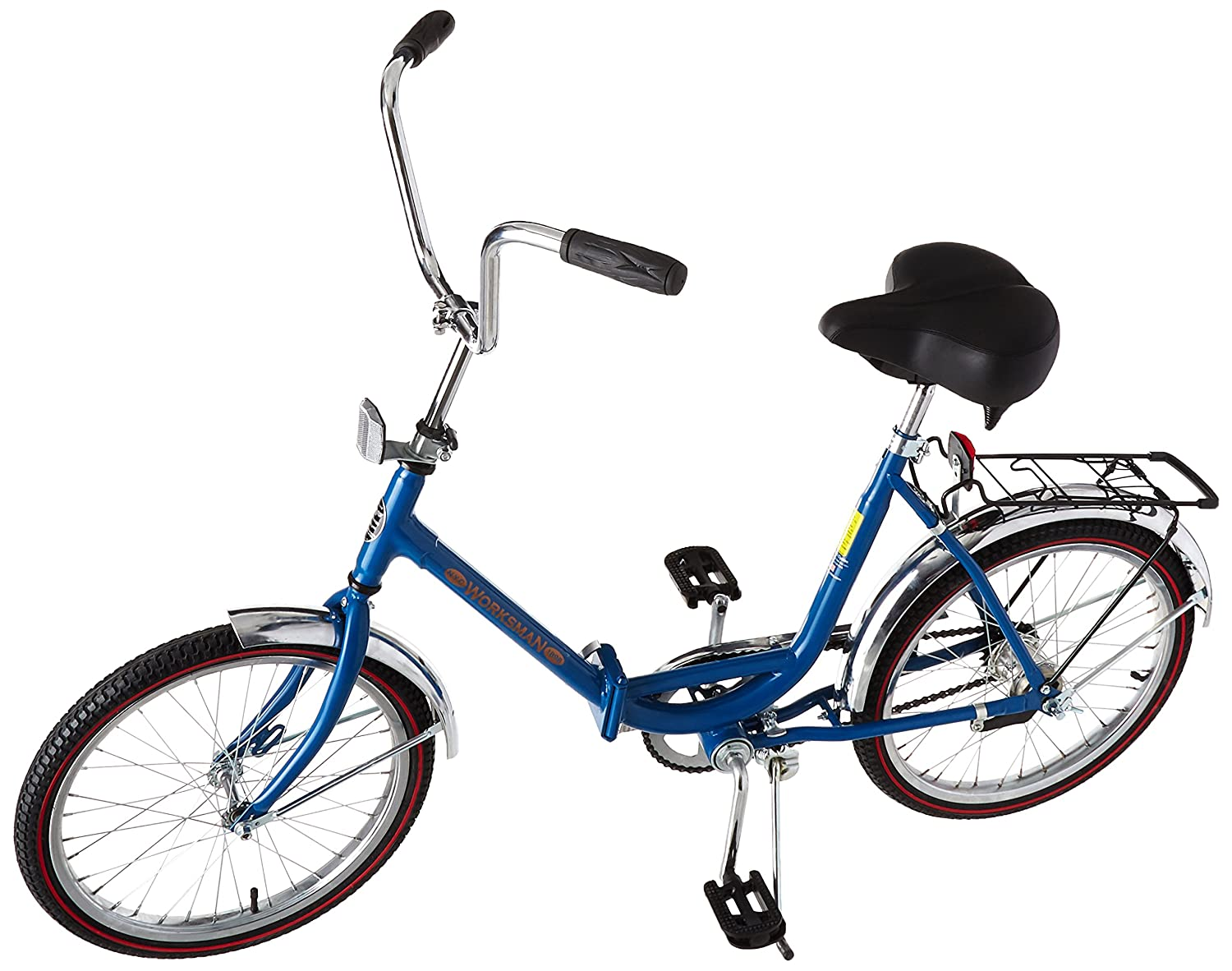 Amazon.com: Worksman Duo - Bicicleta plegable de 2 ...
