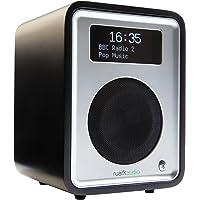 Ruark Audio R1 MkIII DAB/DAB+/FM Alarm Radio with Bluetooth (Soft Black)