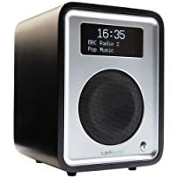 Ruark Audio R1 MkIII DAB/DAB+/FM Alarm Radio with Bluetooth (Soft Black)