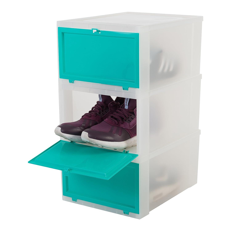 Iris/ scatola cassetta scarpe aufbewahrungsboxen scarpa /Set di 3/scatole scarpe Scarpa conservazione 137007