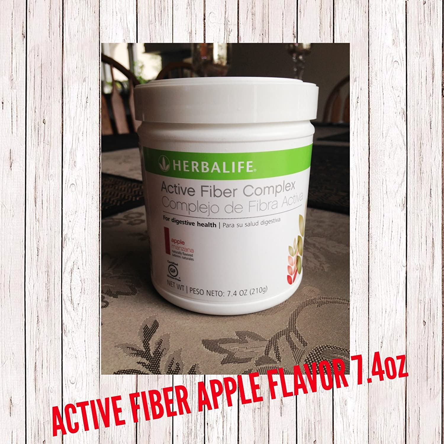 Herbalife 2864 Active Fibre Complex, Apple Flavour 7.4 Oz