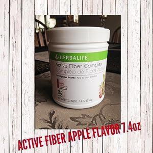 Herbalife 2864 Active Fibre Complex, Apple Flavour 7.4 Oz
