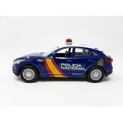 PLAYJOCS GT-0233 Coche POLICÍA Nacional: Juguetes y juegos