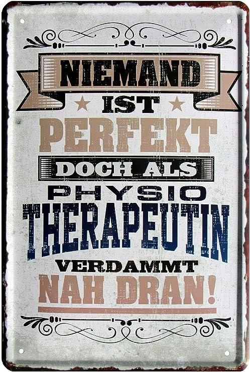 Blechladen Nadie, fisioterapeuta 20 x 30 cm Cartel de Chapa 2180