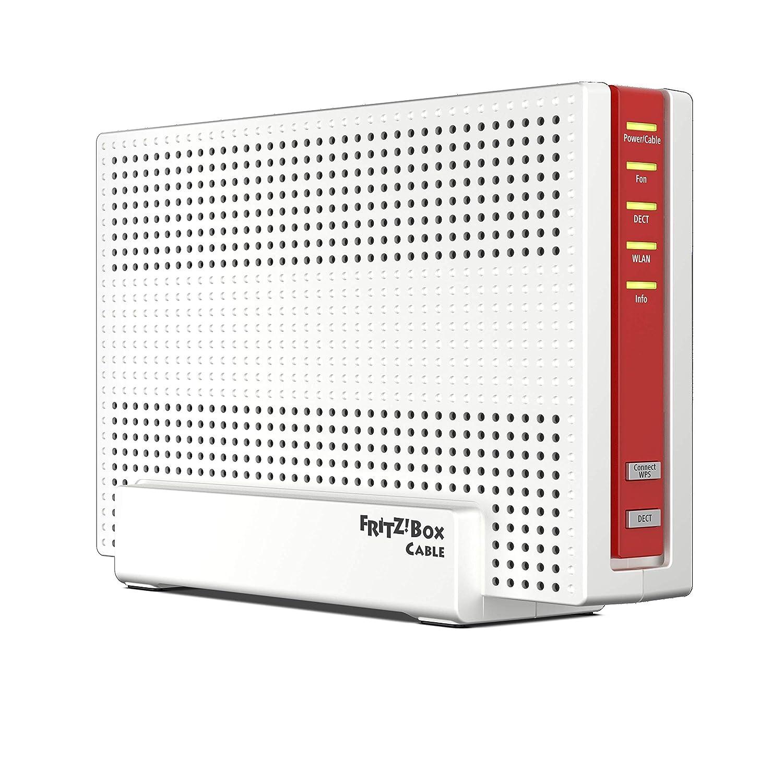 DOCSIS-3.1 VoIP 2, 4 GHz Double WLAN AC+N AVM Fritz!Box 6591 Routeur Wi-FI AC + 800 Mbit//S N MU-MIMO 5 GHz avec 1.733