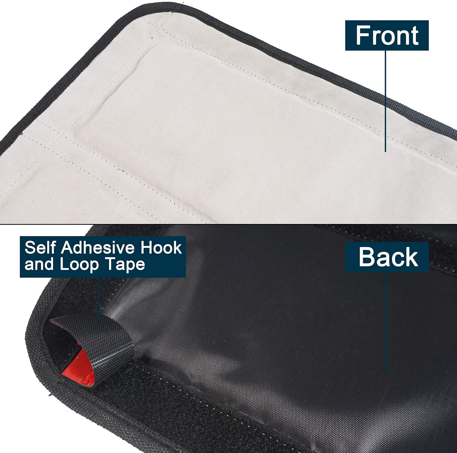 Hooke Road for 1997-2006 Jeep TJ Wrangler Hardtop Headliner Roof Insulation Noise Reduction Kit