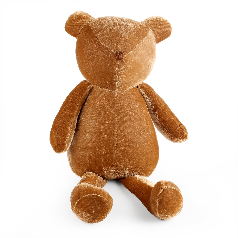 meowtastic Velvet Teddy Bear Stuffed Animal Plush 16.5 Inches Brown