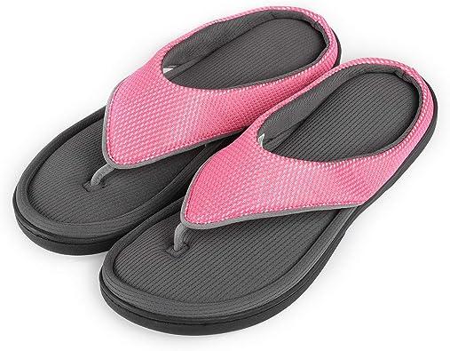 New Woman Open toe Summer Outdoor Slip On Flip Flop Shoes Sandal Ultra Soft