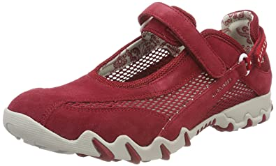 Allrounder by Mephisto - Niro C.suede 48 open Mesh 48 Red red ... e449df7a800