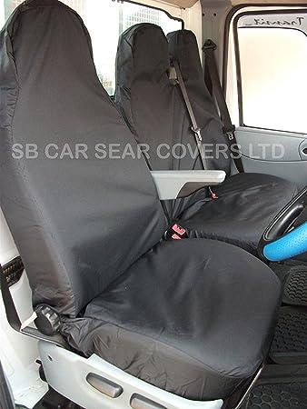 VAN SEAT COVERS ROSSINI WATERPROOF BLACK S D AGBP5895