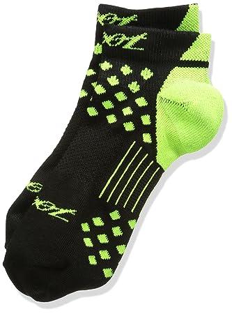 Zoot TT Low - Calcetines para Hombre, Color Verde - Black/Flash, tamaño Large: Amazon.es: Deportes y aire libre