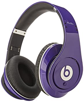 Beats by Dr. Dre Studio High-Definition Powered Isolation Headphones -  Purple 61ff2df84b