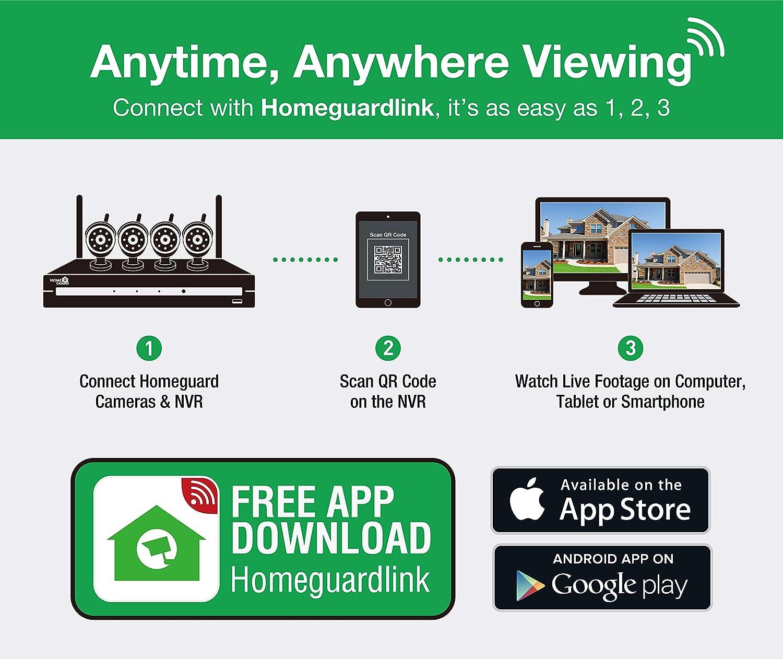 HomeGuard C/ámaras HGNVK88804