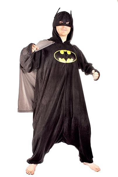 34588b32e41160 Underboss Mens Batman Adult Kigurumi Cosplay Hooded One Size Union ...