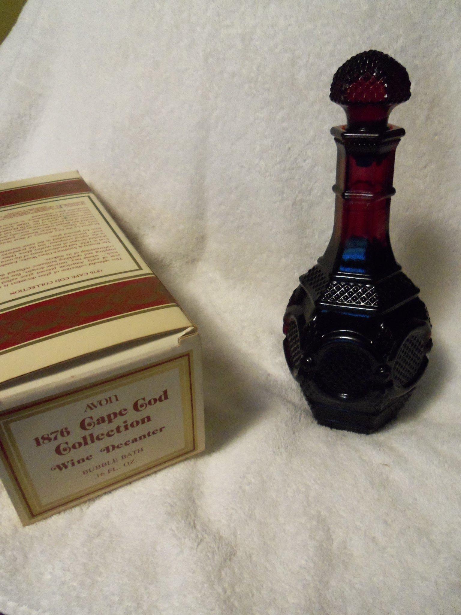 Avon 1876 Cape Cod Collection Wine Decanter