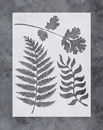 "Americana Decor Stencils-8/"" x 8/"" Fern Frond"