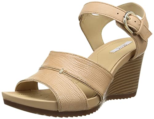 8d5ee86feea Geox Women s D New Roxy 15 Wedge Sandal