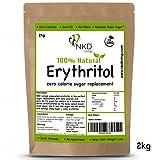 100% Natural Erythritol 2 Kg | ZERO Calorie Sugar Replacement