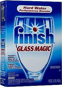 Finish Glass Magic Dishwasher Performance Booster: 16 OZ