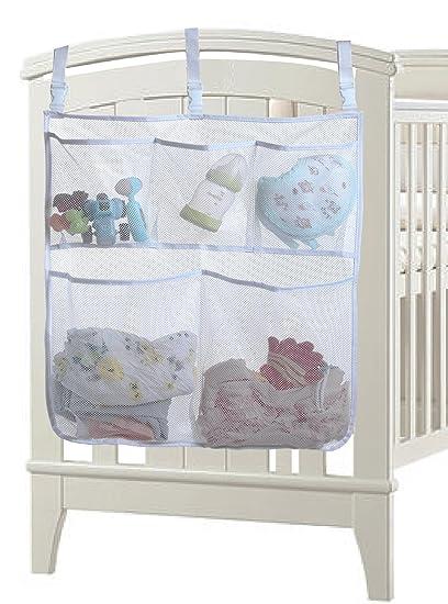 Amazon.com: Mesita de noche dormir cordero Nursery de malla ...