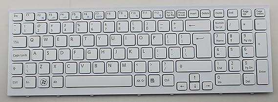 wangpeng New US Backlit Black /& frame Keyboard for Sony VPCF23EFX VPCF23EFX//B