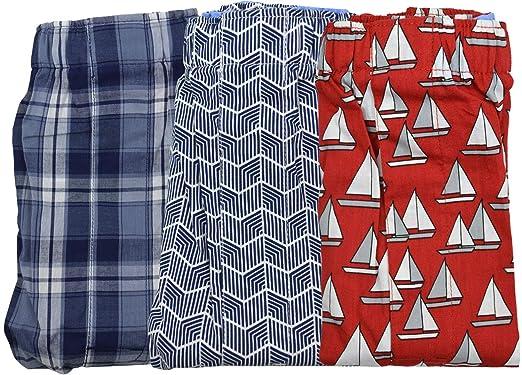 4332be85cb Banana Republic Men's 3 Boxer Set Multi Print Cotton Boxers Red Blue White  Plaid Sailboat (