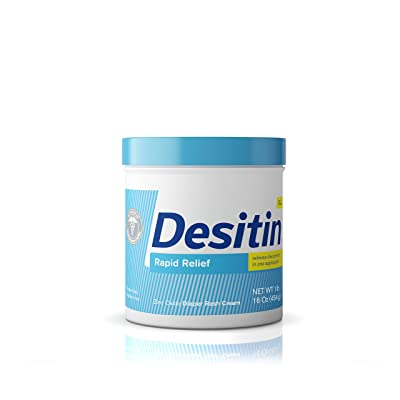 Desitin Rapid Relief Diaper Rash Remedy Fragrance-Free Cream