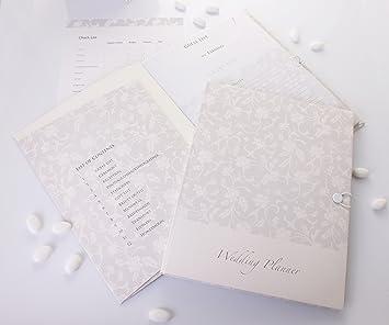 Wedding Organiser Planner Folder