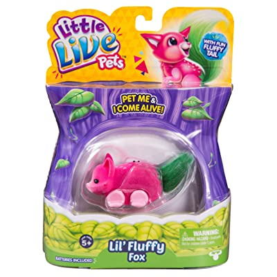 Little Live Pets Series 1 Fluffy Friends - Foxberry, 34527