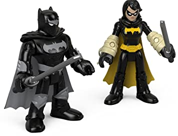 Fisher-Price Imaginext DC Super Friends, Black Bat & Ninja ...