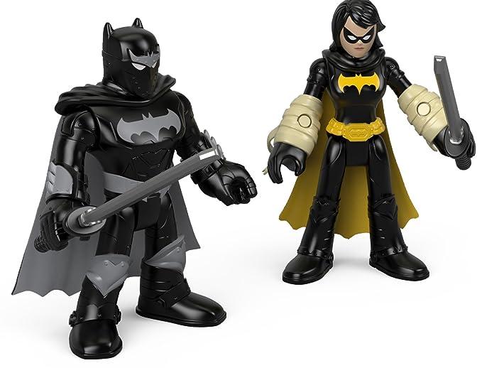 Fisher-Price Imaginext DC Super Friends, Black Bat & Ninja ...