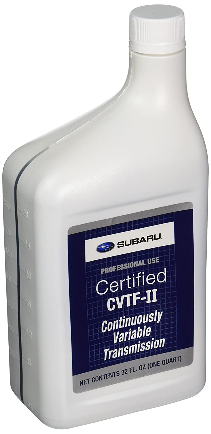 Genuine Subaru SOA427V1660 CVTF-II Continuously Variable Transmission Fluid  , 1 Quart