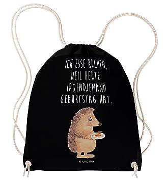 Mr. U0026 Mrs. Panda Sportbeutel Igel Mit Kuchenstück   100% Handmade In  Norddeutschland   Igel, Essen Spruch, Kuchen, ...