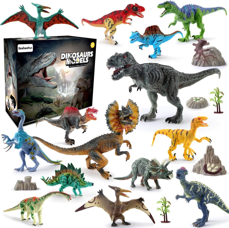 Kids Realistic Dinosaur Toys Dinosaur Figure Tyrannosaurus Purple