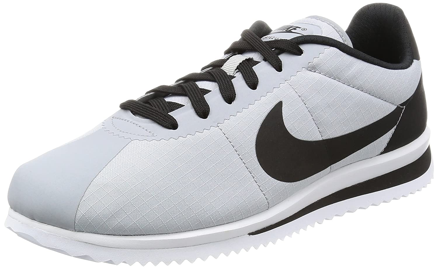 e470eedae14 Nike Men s Cortez Ultra Wolf Grey Black White Casual Shoe 8 Men US  Buy  Online at Low Prices in India - Amazon.in